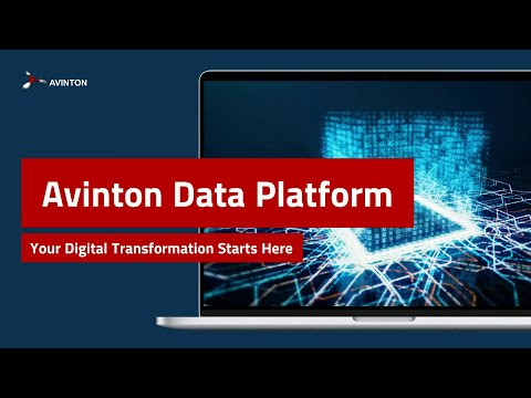 Avinton Data Platform – The End-To-End Solution for Advanced Big Data and AI Workflows