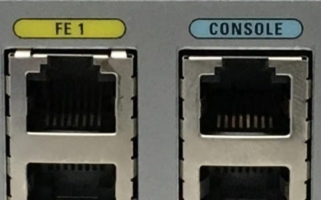 CISCO router console port