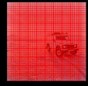 赤で覆われた画像