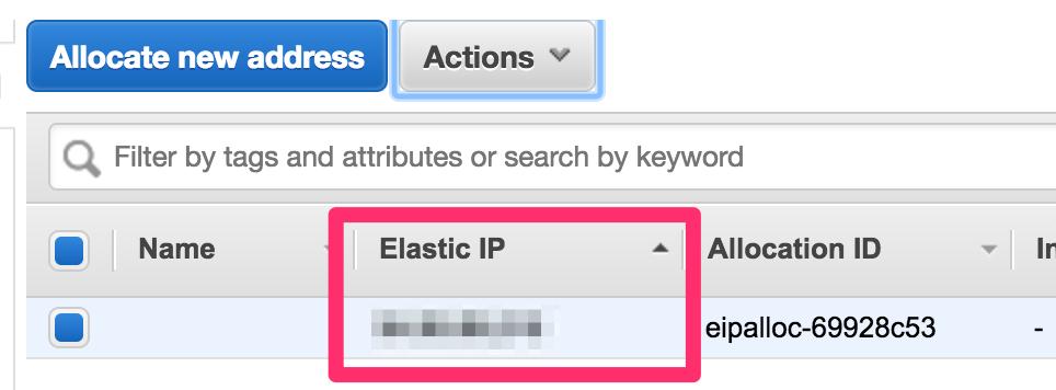![Elastic IPの作成方法の説明図2