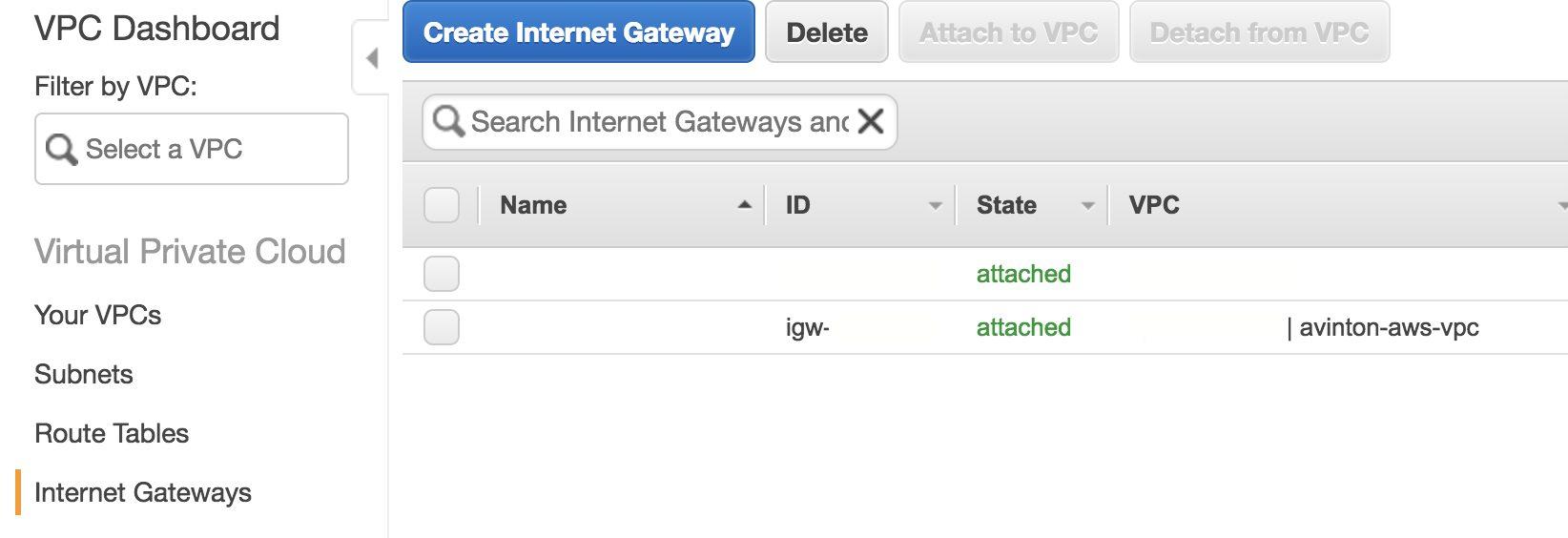 AWS VPC サーバー ネットワーク 構築