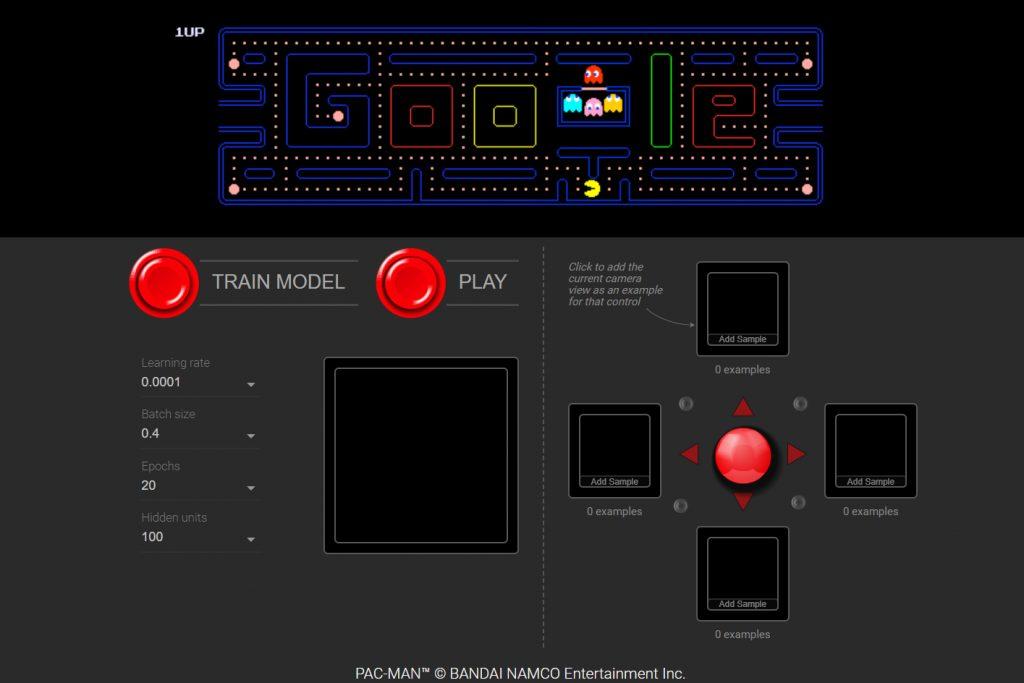 WebCam Pacman