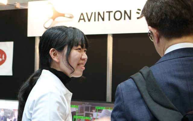 Avinton sales talking to a customer