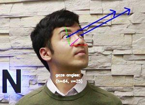 AvintonのエッジAIカメラの視線・表情推定