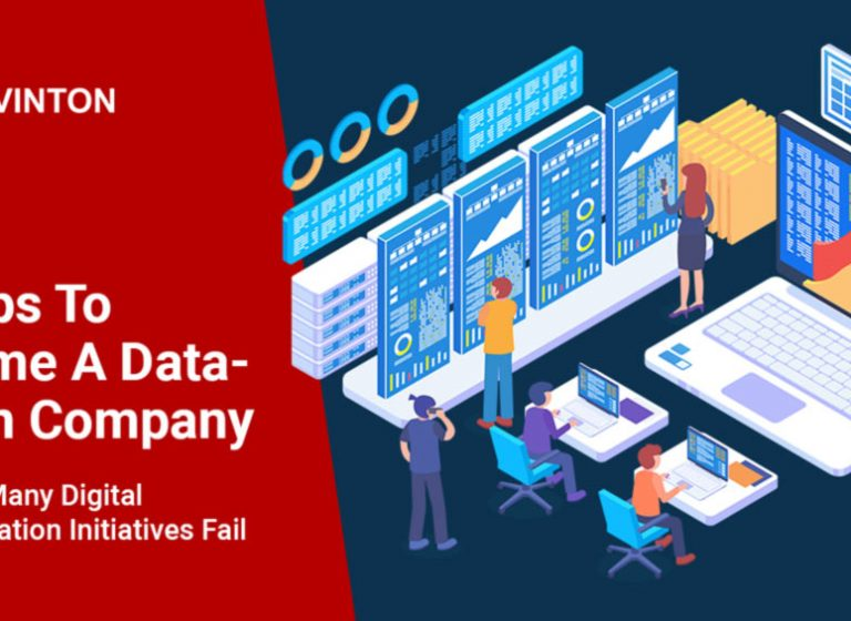 6 Steps To Become A Data-Driven Company – And Why Many Digital Transformation Initiatives Fail