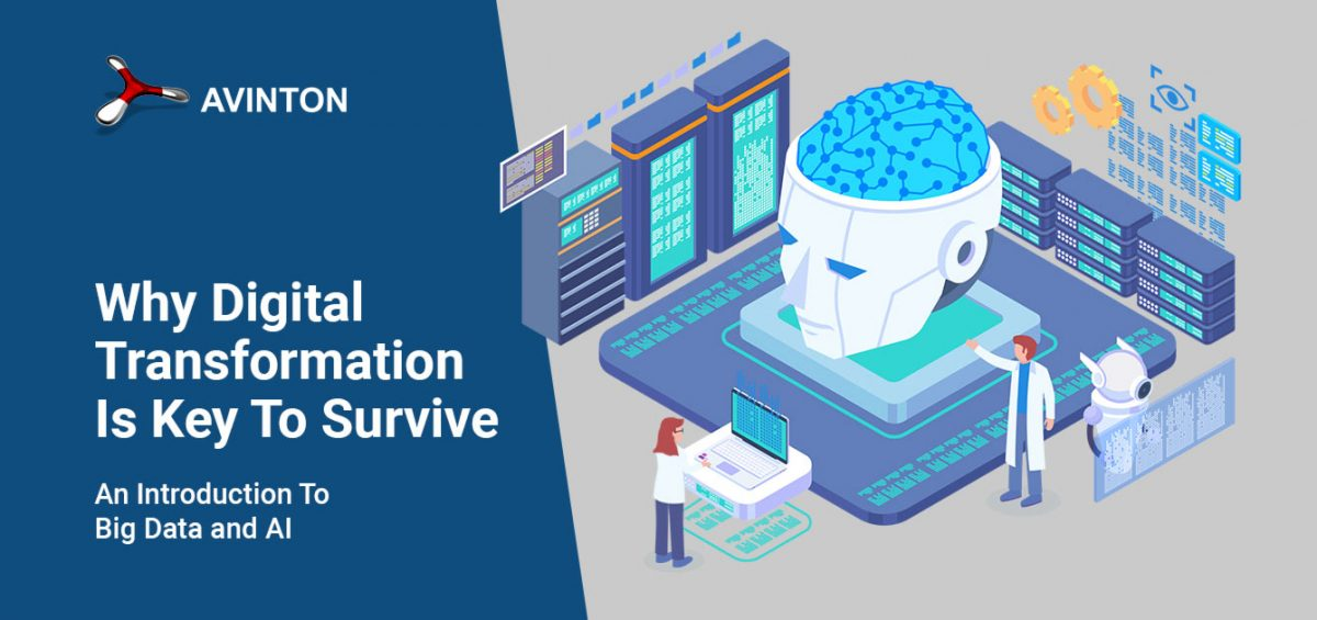 Why Digital Transformation Is Key To Survive - An Introduction To Big Data and AI