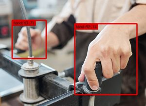 Hand detection with the Avinton Edge AI Camera